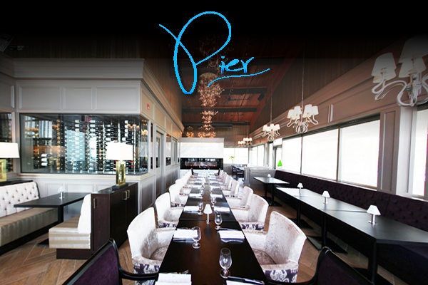 Pier, Sarcoa and Waterfront Patio. Hamilton's Premiere Culinary Experience